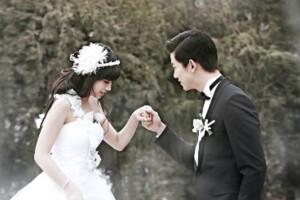 我们结婚了鬼泽夫妇婚纱照
