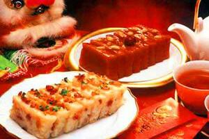 舌尖上的中国年糕