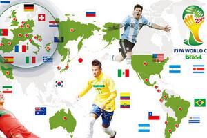 2014巴西世界杯32强