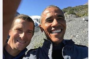 跟着贝尔去冒险奥巴马