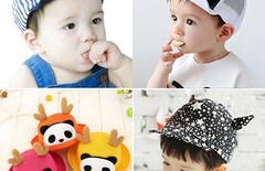 一岁半男宝宝帽子图片