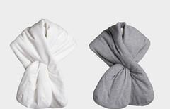 充棉围巾图片