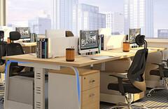 兆邦办公家具图片