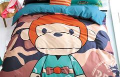 卡通床上用品猴图片