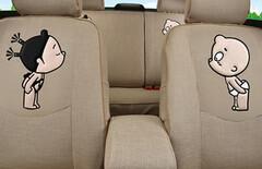 汽车布艺座套全包围女士图片