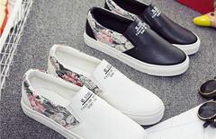 一脚蹬帆布鞋图片