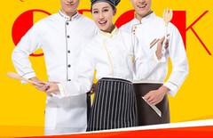 厨师服短袖男女图片