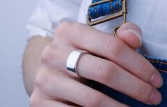 银戒指男士宽面图片