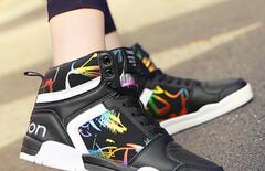 高邦鞋女运动韩版学生图片