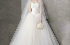 2015新款女士婚纱白色披肩图片