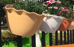 壁挂花盆塑料树脂花盆图片