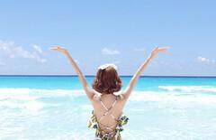 海边度假韩国代购泳衣图片