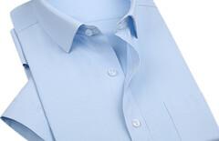 男款衬衫短袖刺绣图片