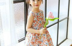 女童连衣裙夏装碎花图片