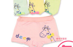 条纹内裤儿童短裤图片