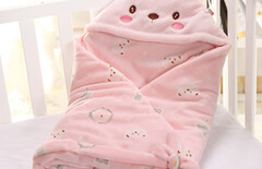 刚出生宝宝抱被图片