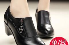 女士坡跟鞋春季休闲图片