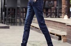 修身牛仔裤四季图片