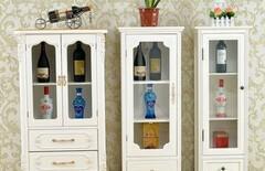 欧式小酒柜实木图片