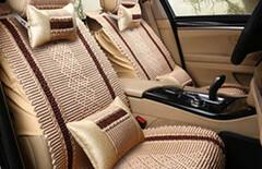 小轿车座椅套夏季冰丝图片