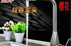 水龙头冷热洗菜盆旋图片