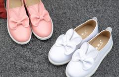 儿童兔耳朵平底鞋图片