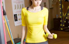 健身服女速干套装半袖图片