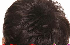 发型女发中发图片