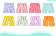 婴儿夏季纯棉开档短裤套装图片