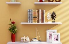 壁挂置物架客厅卧室图片