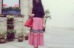 刘雯同款半身裙图片