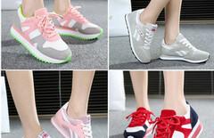 少女运动鞋新款春图片