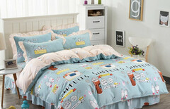 床裙1.5米床卡通图片