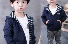 一岁男宝宝外套图片