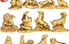 羊摆件纯铜图片