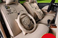 丰田凯美瑞卡通座垫图片