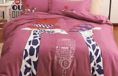 床上用品被套纯棉单件卡通图片