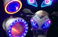 射灯强光灯led激光炮图片