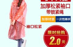 一次性雨衣成人图片