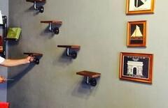 烤漆上墙壁挂架图片