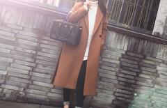 刘亦菲同款大衣图片