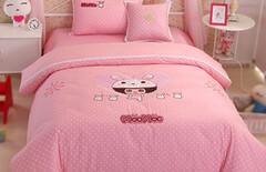 女童床上用品卡通纯棉图片