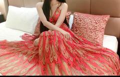 刘钰懿同款长裙图片
