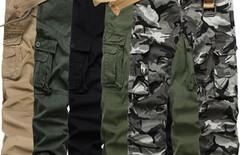 迷彩多兜工装裤图片