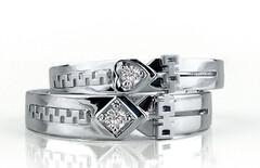 钻石戒指工厂直销图片