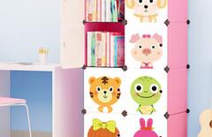 儿童玩具组合柜促销图片