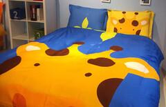 卡通1米5儿童床上四件套图片