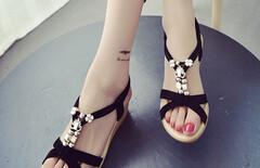 时尚女鞋2016夏版图片
