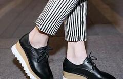 内增高松糕鞋厚底休闲女士单鞋图片