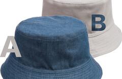 棉牛仔盆帽图片